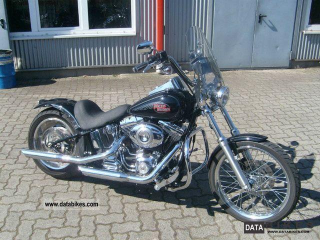 2010 Harley Davidson  FXSTC Softail Custom Motorcycle Chopper/Cruiser photo