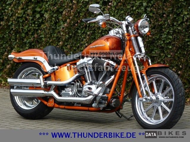 2008 Harley Davidson  Screamin 'Eagle 2 FXSTSSE Springer Softail Motorcycle Chopper/Cruiser photo