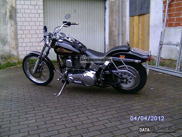 1996 Harley Davidson  Softail Motorcycle Chopper/Cruiser photo