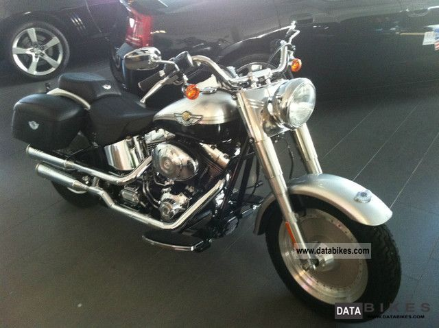 2003 Harley Davidson  FatBoy Special 100 Years, 100% authentic, 3km Motorcycle Motorcycle photo