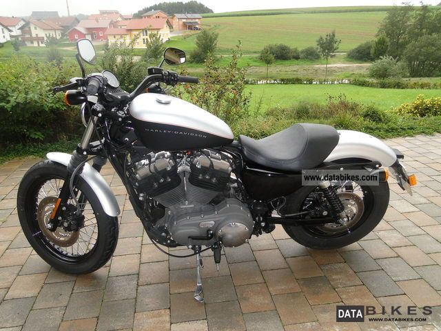 2008 Harley Davidson  XL 1200N Motorcycle Chopper/Cruiser photo