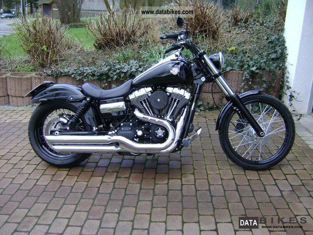 2010 Harley Davidson  FXDWG Dyna Wide Glide model 200 dt! Motorcycle Chopper/Cruiser photo