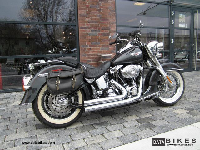 2006 Harley Davidson  Softail Deluxe - VANCE & HINES exhaust! First HAND! Motorcycle Chopper/Cruiser photo