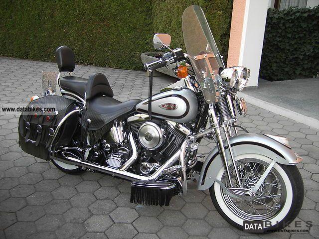 1999 Harley Davidson  Softail Springer Classic Motorcycle Chopper/Cruiser photo