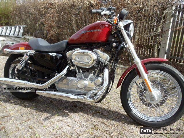 2007 Harley Davidson  Sports Top 883 Motorcycle Chopper/Cruiser photo