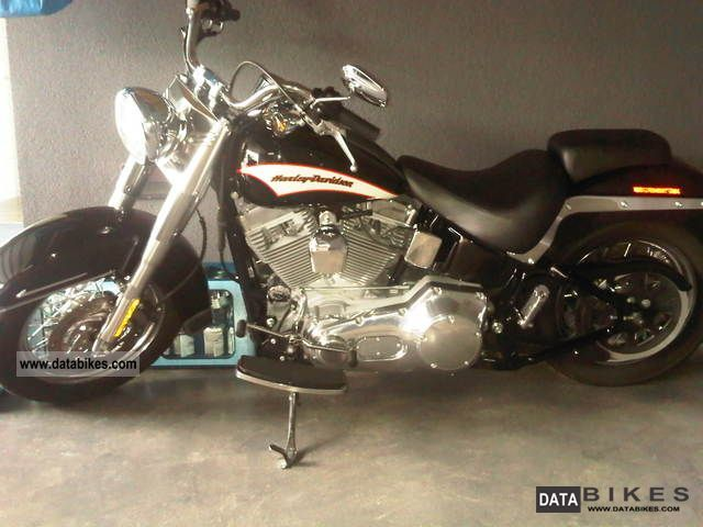 2005 Harley Davidson  Heritage Softail FLSTI Motorcycle Chopper/Cruiser photo