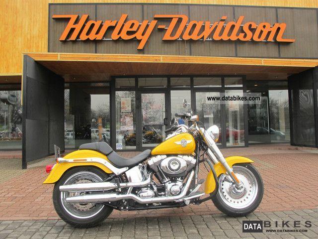 2011 Harley Davidson  2012 Softail FatBoy Motorcycle Chopper/Cruiser photo