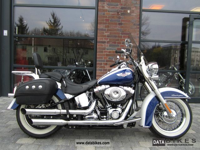 2007 Harley Davidson  Softail Deluxe - 2.635KM! TOP exh.! First HAND! Motorcycle Chopper/Cruiser photo