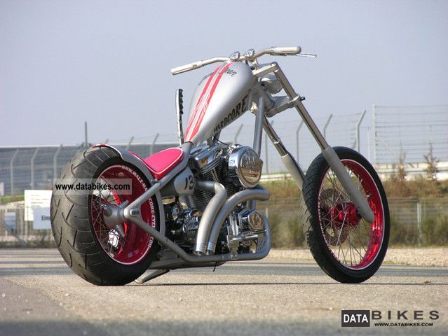 2008 Harley Davidson  ROLLING Little Bastard Motorcycle Chopper/Cruiser photo