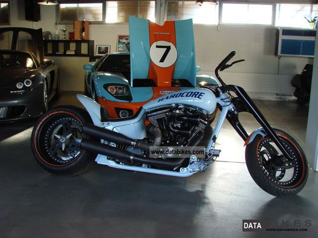 2005 Harley Davidson  ROLLING GULF Le Mans Motorcycle Chopper/Cruiser photo