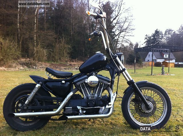 1990 Harley Davidson Oldschool Custom Sportster 883 Chopper Bike