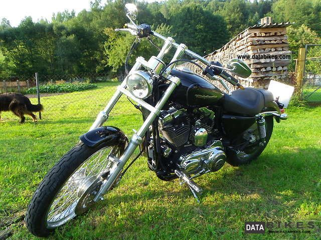 2006 Harley Davidson  Sportster XL 1200 Custom Motorcycle Chopper/Cruiser photo
