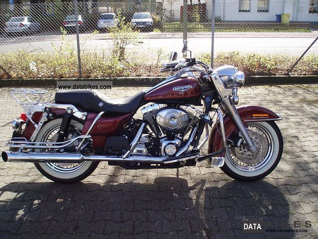 2000 Harley Davidson  Road King Motorcycle Chopper/Cruiser photo