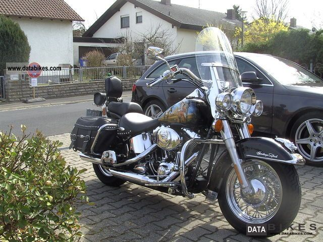 2000 Harley Davidson  Heritage Softail Motorcycle Chopper/Cruiser photo