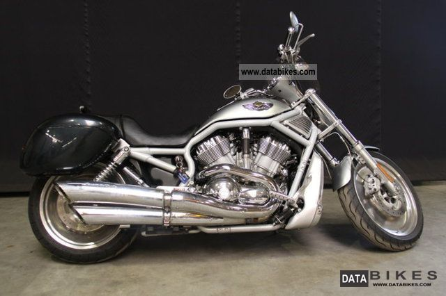 2003 Harley Davidson  ROD VRSCA V 100 Years Aniversery Motorcycle Chopper/Cruiser photo