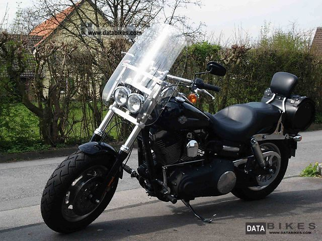 2007 Harley Davidson  -Later Fat Bob Motorcycle Chopper/Cruiser photo