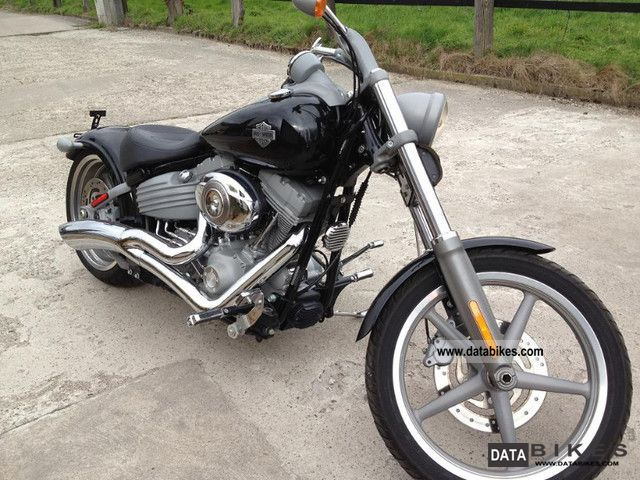 2008 Harley Davidson  + + + + FXCWC Softail Rocker 1A state + + + + Motorcycle Chopper/Cruiser photo