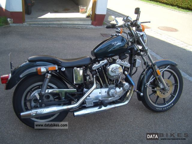 1981 Harley Davidson  XLH Sportster Motorcycle Chopper/Cruiser photo