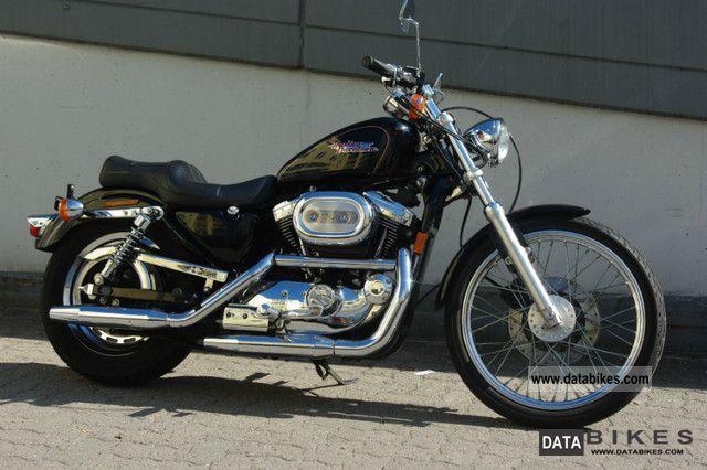 1997 Harley Davidson  1200 Sportster Custom Black original state Motorcycle Chopper/Cruiser photo