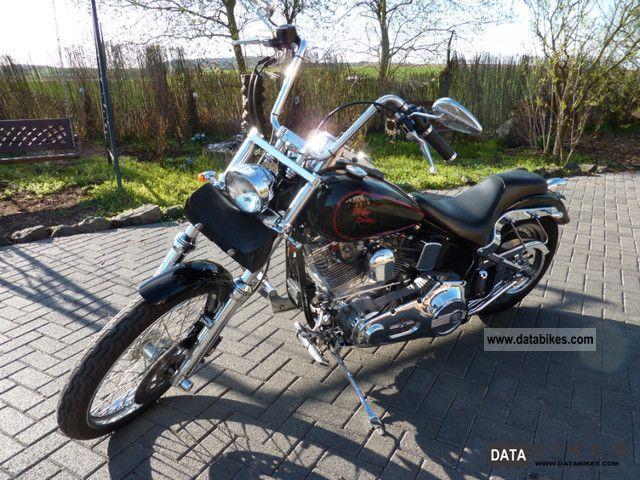 1999 Harley Davidson  FXST Softail EVO Motorcycle Chopper/Cruiser photo