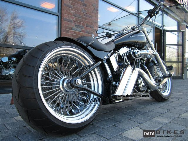 2007 Harley Davidson  Softail Custom '08 \ Motorcycle Chopper/Cruiser photo