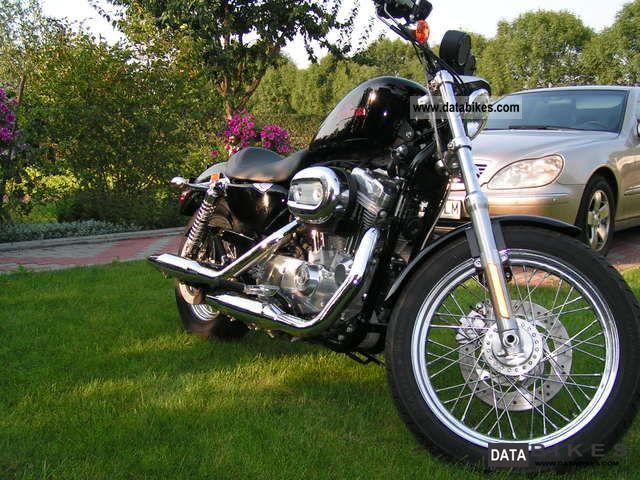 2008 Harley Davidson  XL 883 Sportster Motorcycle Chopper/Cruiser photo