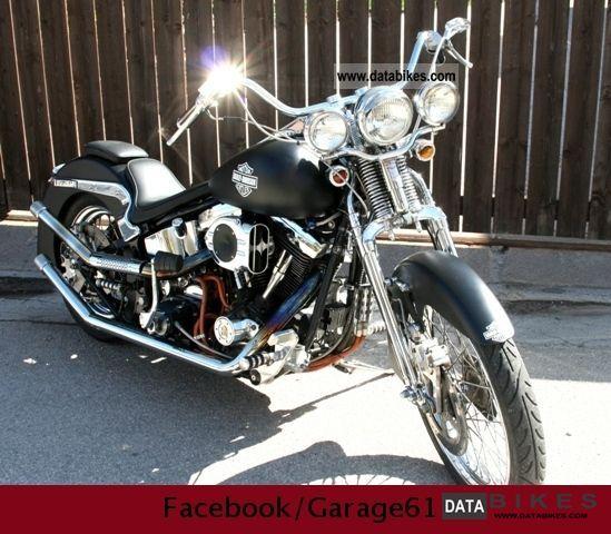 1995 Harley Davidson  Springer Softail Motorcycle Chopper/Cruiser photo