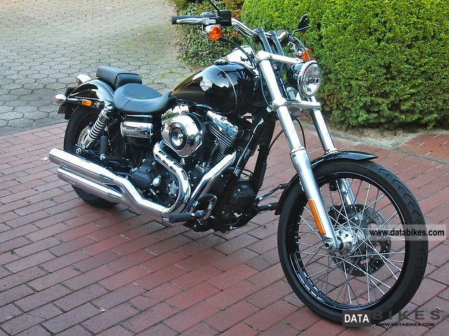 2010 Harley Davidson  Dyna Wide Glide & Hide Jekill exhaust Motorcycle Chopper/Cruiser photo