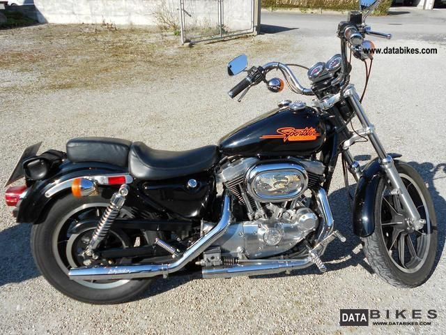 1993 Harley Davidson  Sportster Motorcycle Chopper/Cruiser photo