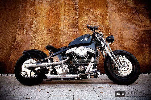 1986 Harley Davidson  Evolution \ Motorcycle Chopper/Cruiser photo