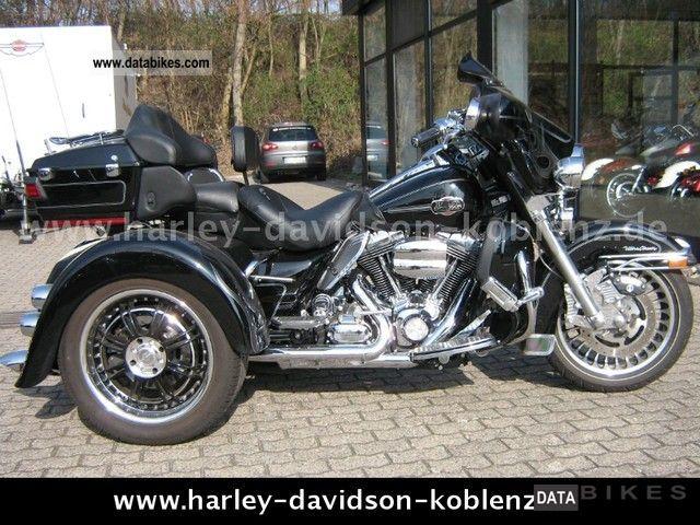 2009 Harley Davidson  Electra Glide Trike Conversion FLHTCU EML Motorcycle Trike photo