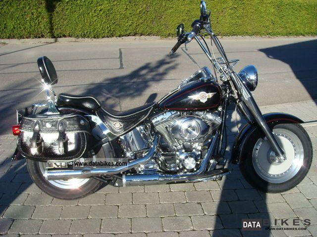 2000 Harley Davidson Fat Boy Chopper Bike Fatboy Pictures