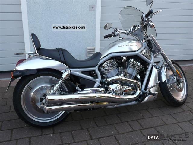 2002 Harley Davidson  VRSC V-Rod exhaust inc Kess Tech and many more. Motorcycle Chopper/Cruiser photo