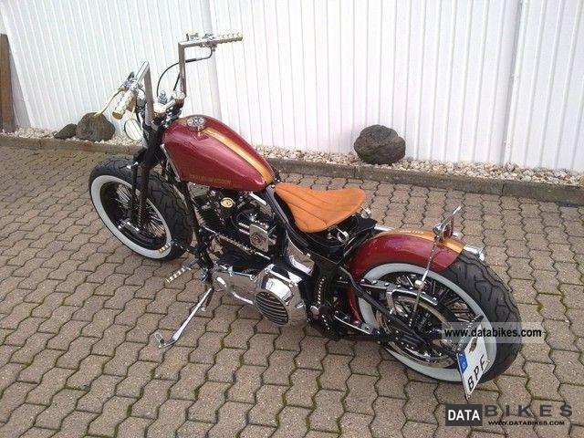 1992 Harley Davidson Softail Chopper Bike