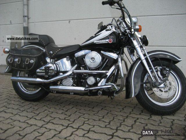 1991 Harley Davidson  Heritage Springer Classic Motorcycle Chopper/Cruiser photo