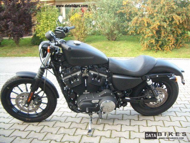 2010 Harley Davidson  XL 883 Sportster Iron flat-black 2010 Motorcycle Chopper/Cruiser photo