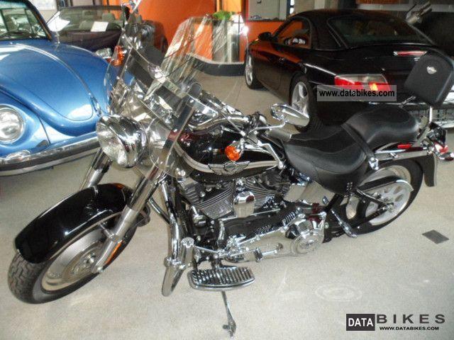 2003 Harley Davidson  Fat Boy Sondermod.100 years as new 2Tkm Motorcycle Chopper/Cruiser photo