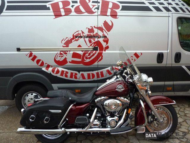 2008 Harley Davidson  Road King FLHRC Six Speed - Cruise Control Motorcycle Chopper/Cruiser photo