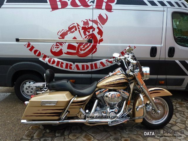 2003 Harley Davidson  Road King Screaming Eagle FLHRSE Vollausstattung Motorcycle Chopper/Cruiser photo