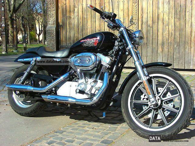 Harley Davidson  Sportster 883 Custom present XL53C 2007 Chopper/Cruiser photo