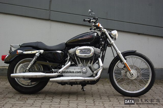 2009 Harley Davidson  Sportster 2009er like new black 4000 km Motorcycle Chopper/Cruiser photo