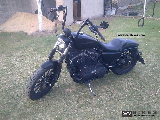 2009 Harley Davidson  Sportster Nightster Motorcycle Chopper/Cruiser photo