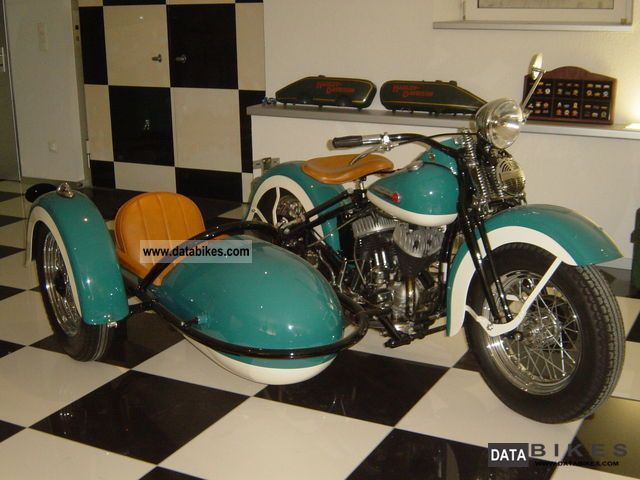 Harley Davidson  SSC 1942 Vintage, Classic and Old Bikes photo