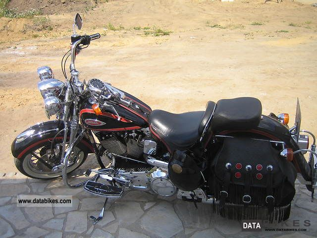 1999 Harley Davidson  Heritage Springer Classic Motorcycle Chopper/Cruiser photo