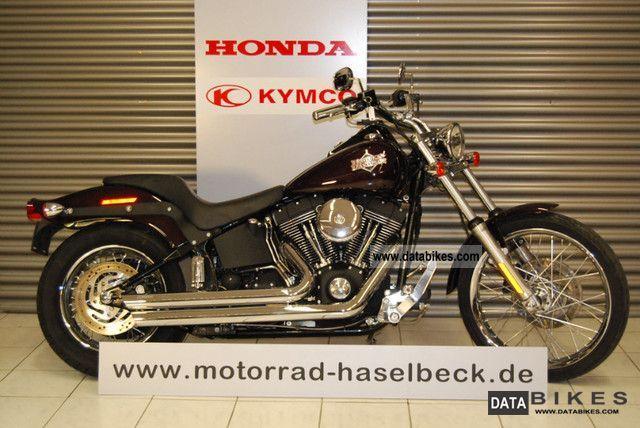 2005 Harley Davidson  1450 FXSTB Night Train Motorcycle Chopper/Cruiser photo