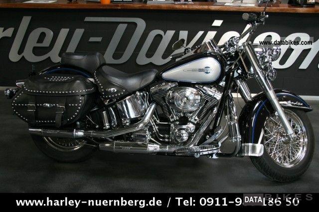 2006 Harley Davidson  FLSTC Heritage 1750 cc G & R Softail Conversion Motorcycle Chopper/Cruiser photo