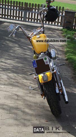 1983 Harley Davidson  Sportster XLH 1000 Motorcycle Chopper/Cruiser photo