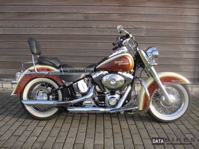 Harley Davidson  Heritage Softail Deluxe 'German extradition' 2006 Chopper/Cruiser photo