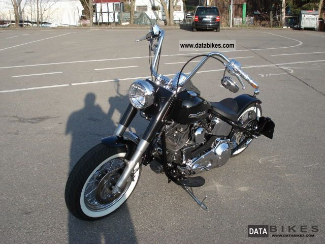 2006 Harley Davidson FLSTNI Bobber Softail Deluxe Twin Cam