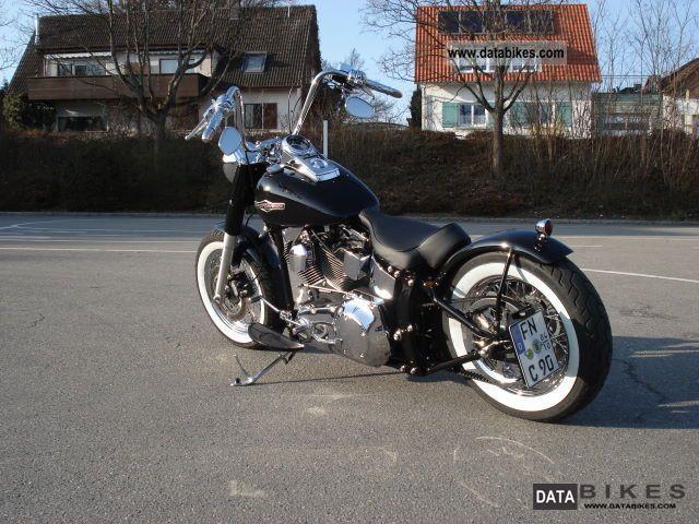 2006 Harley Davidson FLSTNI Bobber Softail Deluxe Twin Cam on